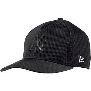 New Era Meshed Logo NY Yankees Cap schwarz
