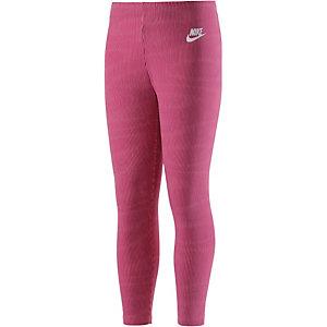 Nike Cropped Leg a see Leggings Mädchen fuchsia