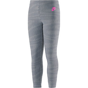 Nike Cropped Leg a see Leggings Mädchen grau
