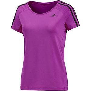adidas T-Shirt Damen lila