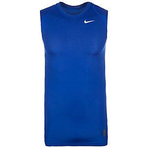 Nike Pro Dry Compression Funktionstank Herren blau