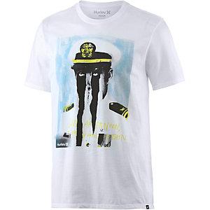 Hurley Capn Printshirt Herren weiß