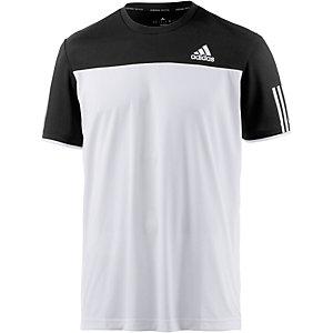adidas Club Funktionsshirt Herren weiß/schwarz