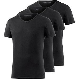 Tommy Hilfiger V-Shirt Herren schwarz