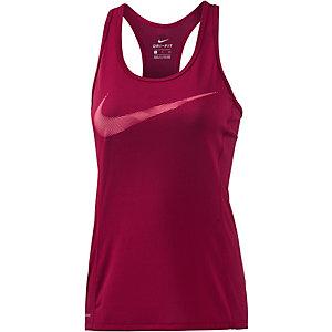 Nike Dri-Fit Contour Tanktop Damen rot