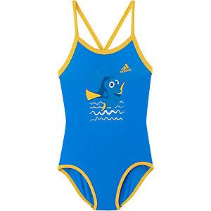 adidas Badeanzug Mädchen blau/gelb
