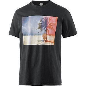 Bench Redhot Printshirt Herren schwarz