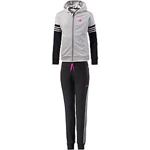 adidas Trainingsanzug Mädchen schwarz/grau