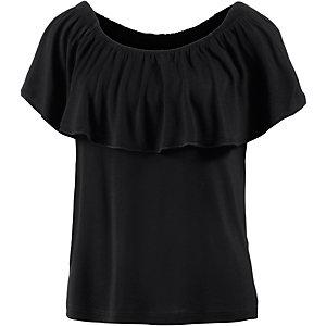 Lascana T-Shirt Damen schwarz