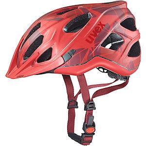 Uvex Adige CC Fahrradhelm red mat