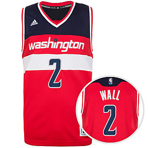 adidas Washington Wizards Wall Swingman Basketball Trikot Herren rot / weiß / blau