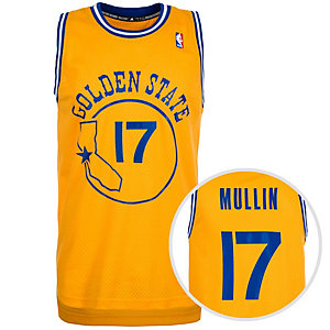 adidas Golden State Warriors Mullin Swingman Basketball Trikot Herren gelb / blau