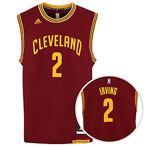 adidas Cleveland Cavaliers Irving Basketball Trikot Herren bordeaux / gelb