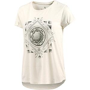 Element Diamond Floral T-Shirt Damen weiß