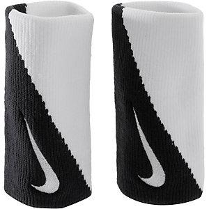 Nike Dri-Fit Doublewide Wristband 2.0 Schweißband schwarz/weiß