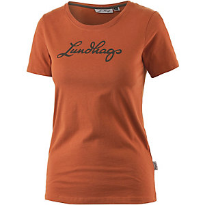 Lundhags Printshirt Damen orange