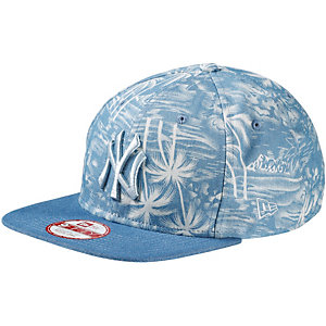 New Era Den Palm Snap NY Yankees Cap hellblau