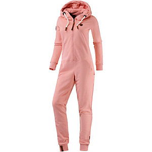 Naketano Blaumann V Jumpsuit Damen rosa melange