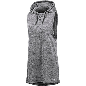 Under Armour TECH Funktionstank Damen schwarz/melange