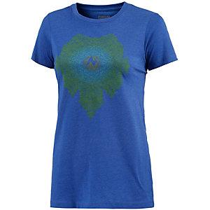 Marmot Emmy Printshirt Damen blau