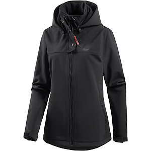 Protest Edith Softshelljacke Damen schwarz
