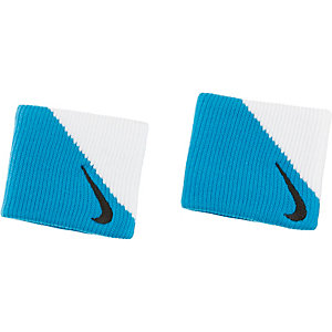 Nike Dri-Fit Wristband 2.0 Schweißband blau/weiß