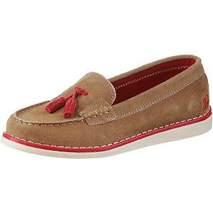 Brakeburn Tassle Loafer Bootsschuhe Damen weiß