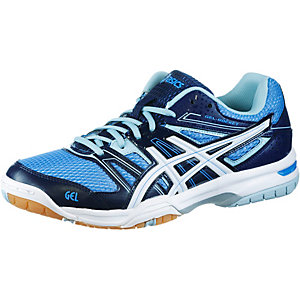 ASICS GEL-ROCKET 7 Volleyballschuhe Damen blau
