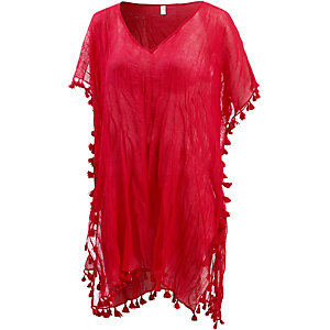 Seafolly Amnesia Tunika Damen chillirot