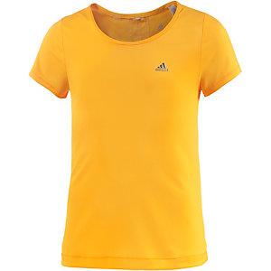 adidas Funktionsshirt Mädchen orange