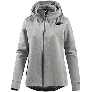 Nike Advanced Sweatjacke Damen grau/melange