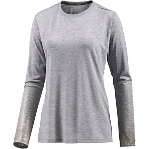 Brooks Distance Laufshirt Damen grau