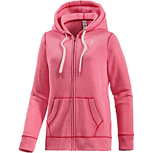 Under Armour Sweatjacke Damen pink/melange