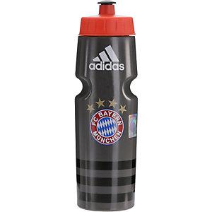adidas FC Bayern Trinkflasche grau
