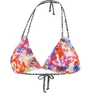 VENICE BEACH Spring Bikini Oberteil Damen orange/gelb/lila