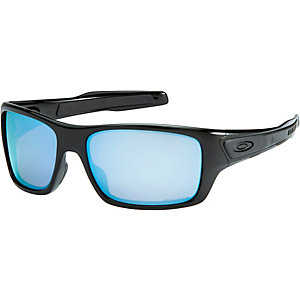 Oakley Turbine prizm/polarized Sportbrille polished black prizm deep water polarized prizm
