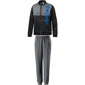 adidas Trainingsanzug Jungen schwarz/grau/blau