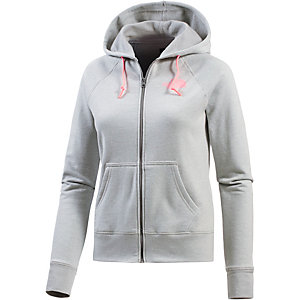 The North Face MA Logo Kapuzenjacke Damen hellgrau
