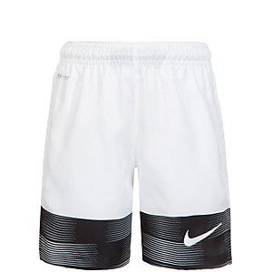 Nike Strike GPX Printed Woven Short 2 Fußballshorts Kinder weiß / schwarz