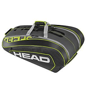 HEAD Speed LTD 12er Monstercombi Tennistasche oliv / schwarz