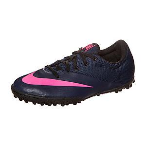 Nike Mercurial X PRO Fußballschuhe Kinder dunkelblau / pink