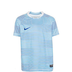 Nike Flash Graphic Fußballtrikot Kinder weiß / blau