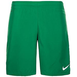 Nike Laser Woven III Fußballshorts Herren grün / weiß