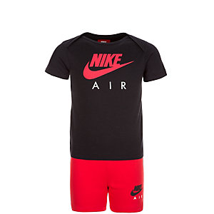 Nike Air GPX Trainingsanzug Kinder schwarz / rot
