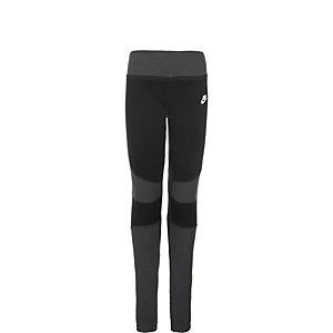Nike Tech Fleece Tights Mädchen schwarz / anthrazit