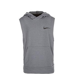 Nike Dri-FIT Hoodie Kinder grau