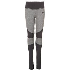 Nike Tech Fleece Tights Mädchen grau / schwarz