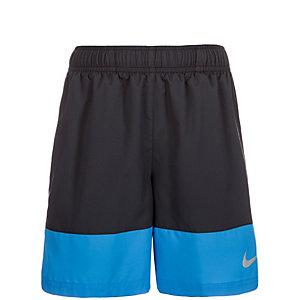 Nike Distance Laufshorts Jungen schwarz / blau