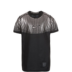 Nike Pro Hypercool Max Elite Funktionsshirt Jungen schwarz / silber