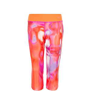 Nike Legend 2.0 Allover Print Tights Mädchen orange / lila